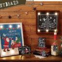 丸和貿易 クリスマスパネル LEDライトボード